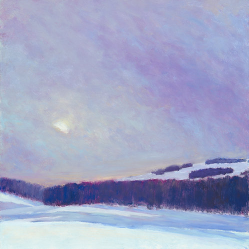 Sun on Snow I - Signed, limited edition giclee