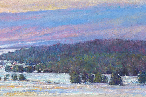 Across to the Foothills - Signed, limited edition giclee