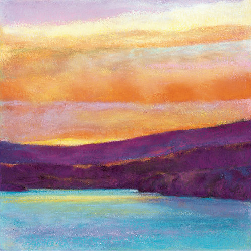 Evening Glow - Signed, limited edition giclee