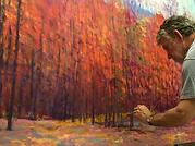 Ken_Elliott_painting_lagre_red_oil_600x6