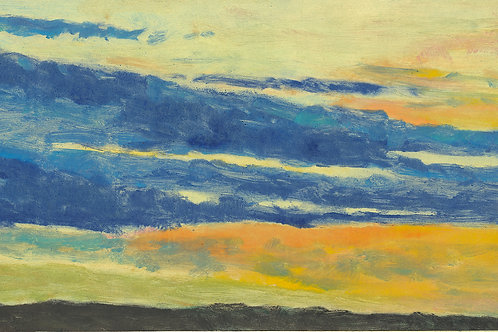 Long Sky III - Signed, limited edition giclee
