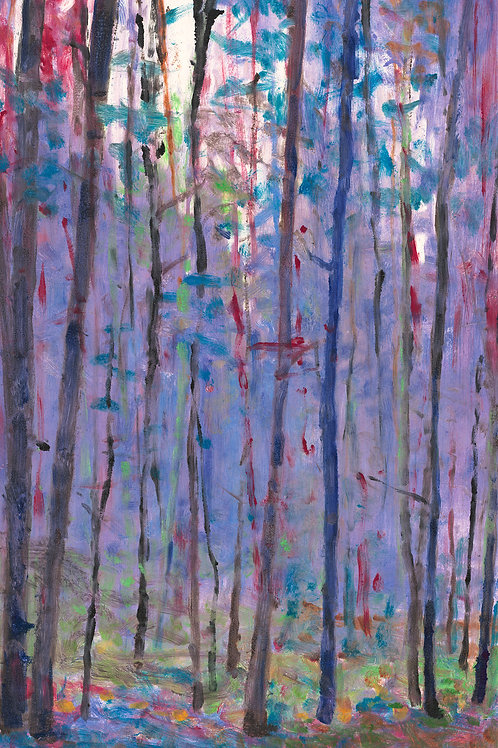 Into the Forest - Signed, limited edition giclee
