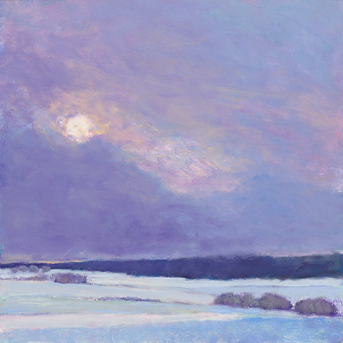 Sun on Snow II - Signed, limited edition giclee