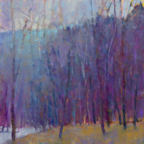 Wood at the Lake II (oil) - Signed, limited edition giclee