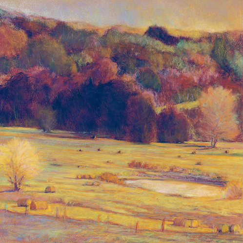 Hayfield Palette - Signed, limited edition giclee