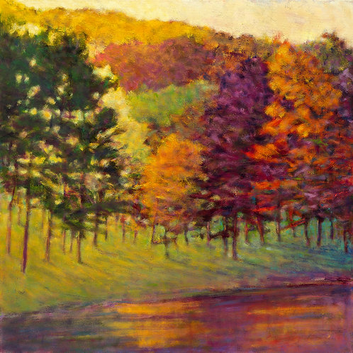 Color at the Lake - Signed, limited edition giclee