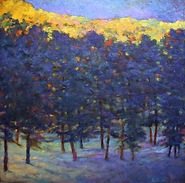 Ken Elliott Blue and Yellow Contrasts 36