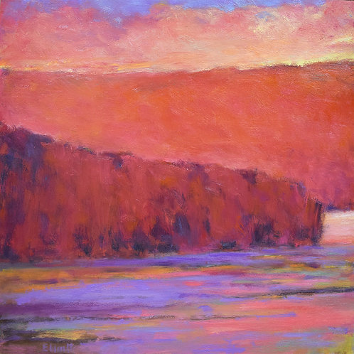 Iridescent Lake - sold private collection
