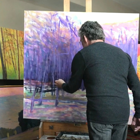 Video: Ken reviews and comments on some of his works at the Sorelle Gallery, New Canaan, CT
