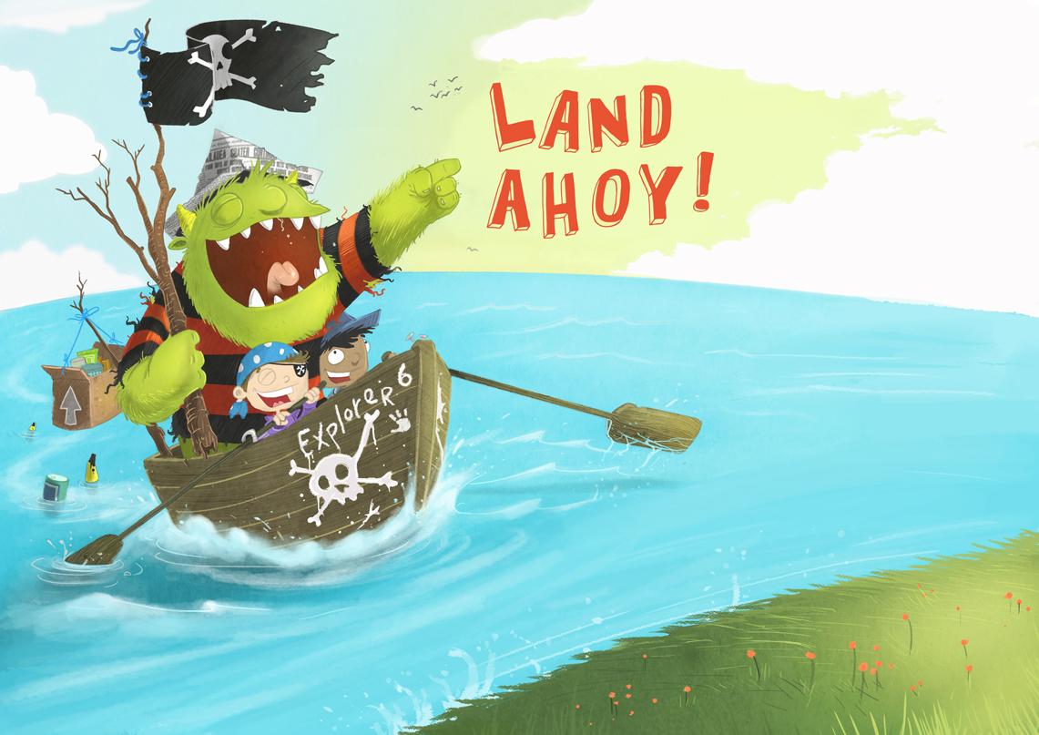 LAND-AHOY!