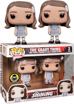 Grady Twins 2 pack Pop! Vinyl Figure