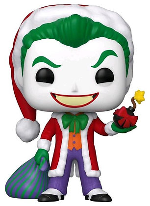 DC Joker Santa Holiday Pop! Vinyl Figure