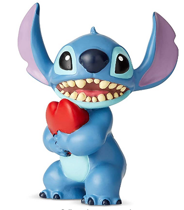 Enesco Stitch with heart