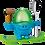 Thumbnail: WMF 06.1668.7620 - MCEgg  blau/grün