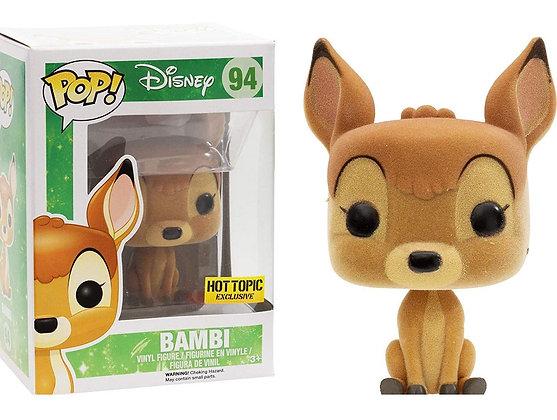 Disney Bambi Flocked Pop! Vinyl Figure