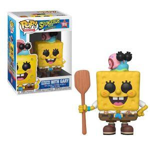 SpongeBob SquarePants with Gary (Spongebob Movie) Pop! Vinyl