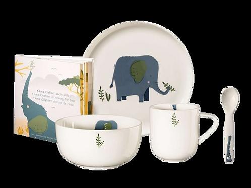 ASA - 5 teiliges Kinderset Emma Elefant