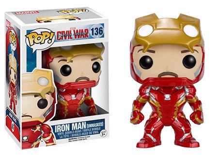 Avengers Civil War Iron Man Pop! Vinyl Figure
