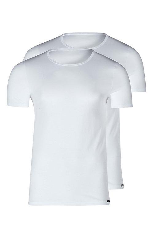 Skiny Herren Shirt kurzarm 2er Pack Shirt Collection