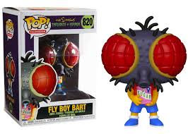 The Simpsons Fly Boy Bart Pop! Vinyl Figure