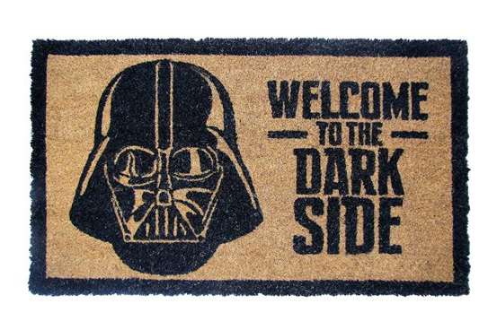 Star Wars Darth Vader Welcome To the Dark Side Coir Doormat