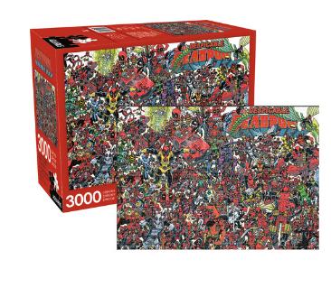 Marvel Deadpool The Despicable Deadpool 3000 Pc Jigsaw Puzzle