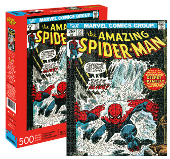 Marvel Spider-Man Cover 500 pc Puzzle