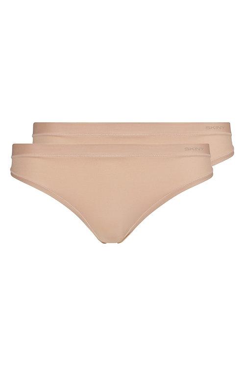 Skiny Damen String 2er Pack Pure Nudity