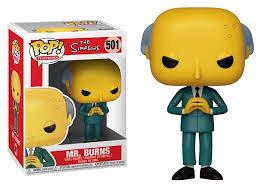 The Simpsons Mr. Burns Pop! Vinyl Figure