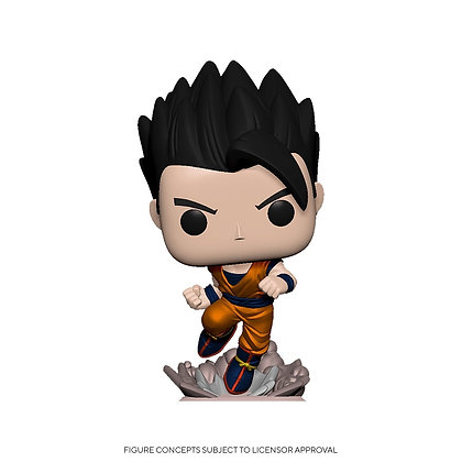 Dragon Ball Z Gohan (Rush) (Metallic) Pop! Vinyl Figure
