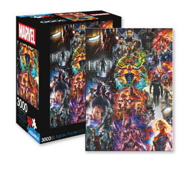 Marvel Avengers Collage 3000 Pc Jigsaw Puzzle