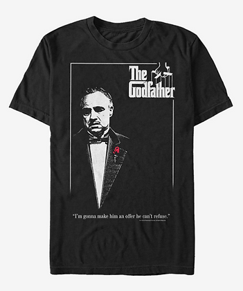 The Godfather Poster T-Shirt  - Unisex