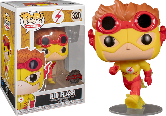 DC Heroes Kid Flash (Young Justice) Pop! Vinyl Figure