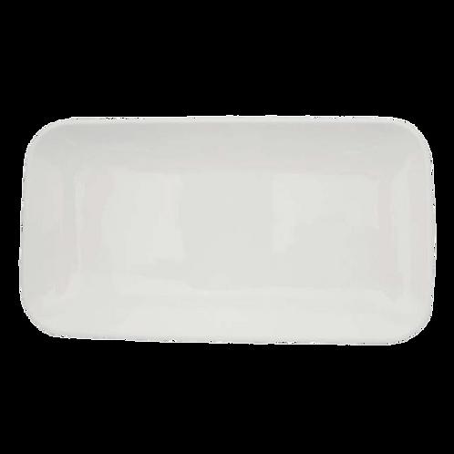 Rechberger - Platte 35x19,3x2,8 cm weiss