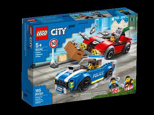 LEGO® 60242 - Festnahme auf der Autobahn