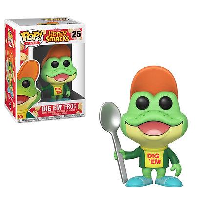 Dig Em' Frog Pop! Vinyl Figure