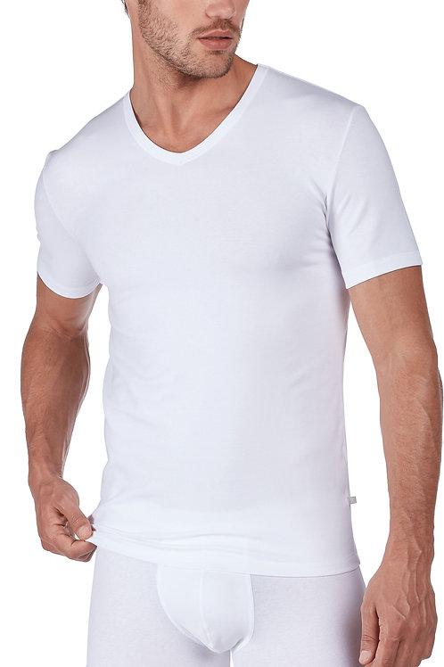 """Huber """"hautnah Cotton 2 Pack"""" Herren Shirt Kurzarm"""