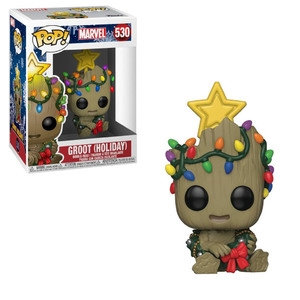 Marvel Holiday Groot with Lights Pop! Vinyl Figure