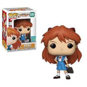 Evangelion Asuka School Uniform Pop! Vinyl Figure