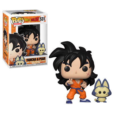 Dragon Ball Yamcha & Puar Pop! Vinyl Figure