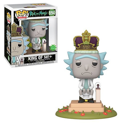 Rick and Morty King of S#!+ Electronic Deluxe Pop! Vinyl Figure