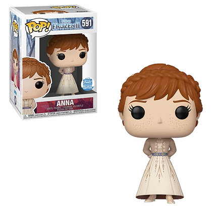 Disney Frozen Anna Funko Shop Exclusive Pop! Vinyl