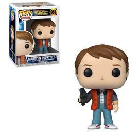 Back to the future Marty in Puffy Vest Pop! Vinyl Figure