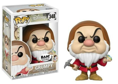 Disney Snow White Grumpy Pop! Vinyl Figure