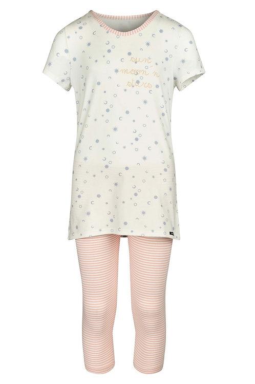 Skiny Mädchen Pyjama 3/4 Lovely Sleep