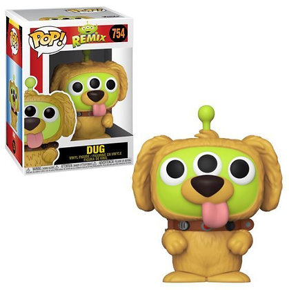 Toy Story Alien Remix Dug Pop! Vinyl