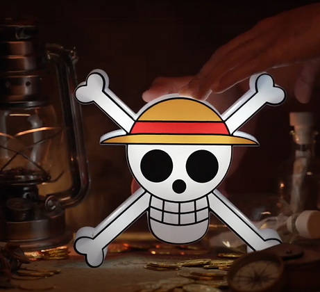 One piece lamp