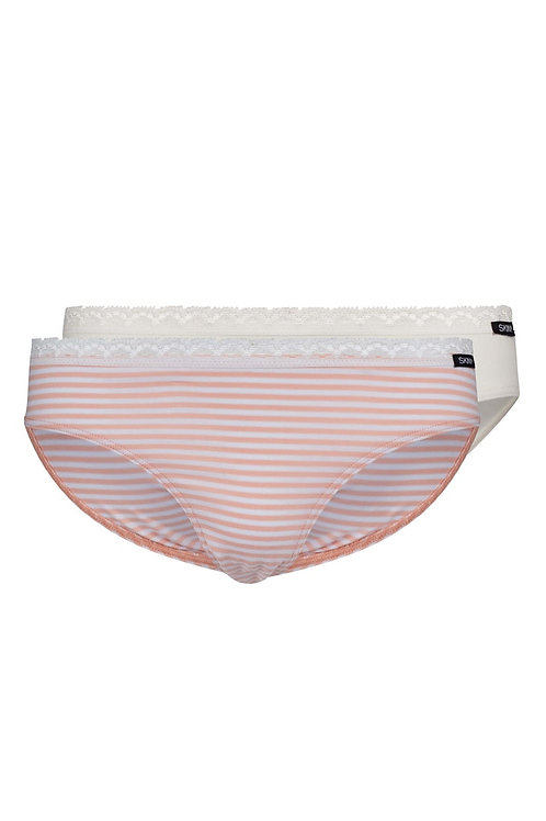 """Skiny Mädchen Rio Slip 2er Pack """"Every Day In CottonLace Multipack"""""""