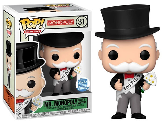 Mr. Monopoly Beauty Contest Pop! Vinyl Figure