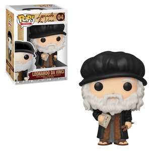 Artists Leonardo da Vinci Pop! Vinyl Figure